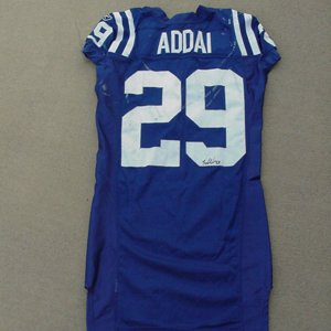 2006 Indianapolis Colts Joseph Addais Game Worn Jersey