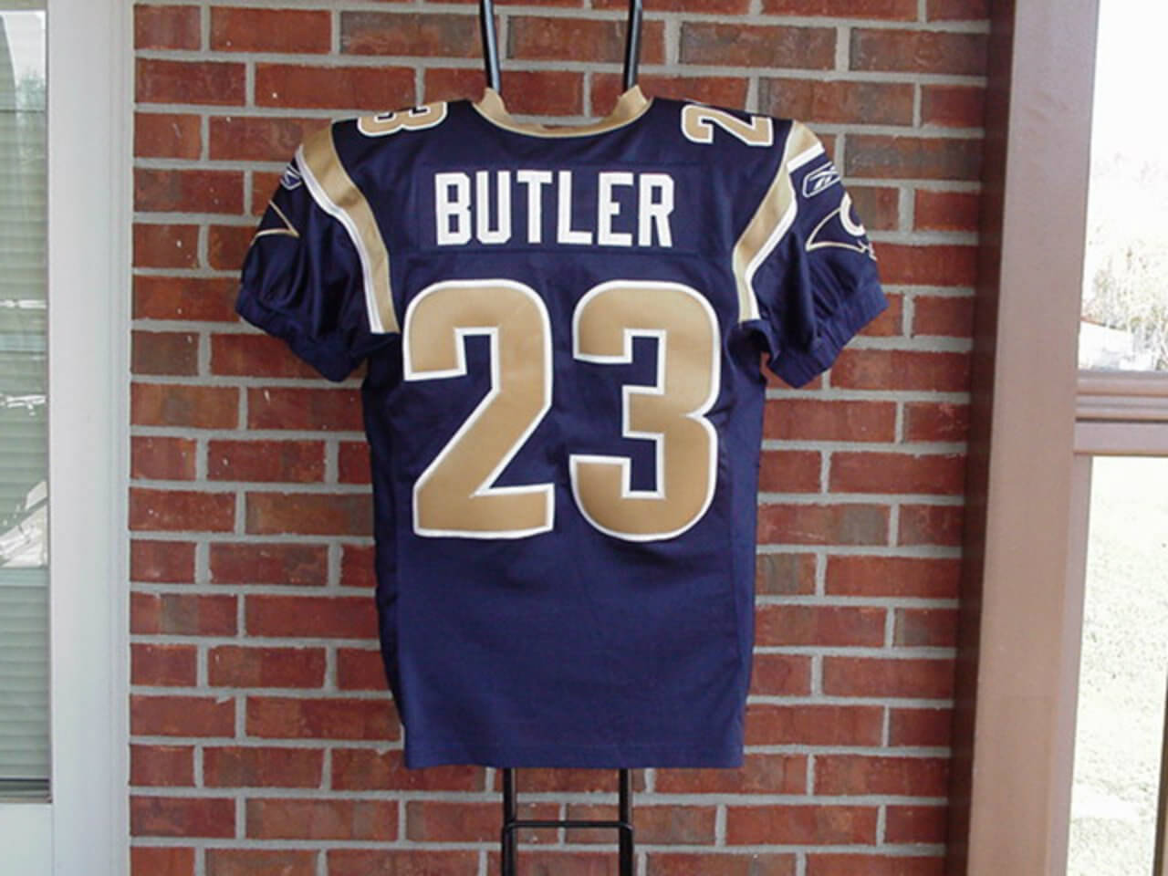 2004 St Louis Rams - Jerametrius Butler Game-Worn Uniform Incl. Jersey, Helmet & Cleats (Wetrak)