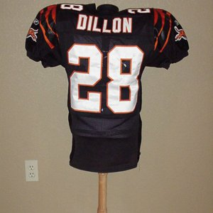 2002 Bengals Corey Dillion Game-Worn Jersey