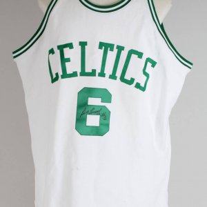 Boston Celtics Bill Russell Signed Authentic Mitchell & Ness Jersey