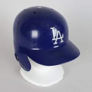 1994 LA Dodgers - Delino DeShields Game-Worn Batting Helmet - COA 100% Team