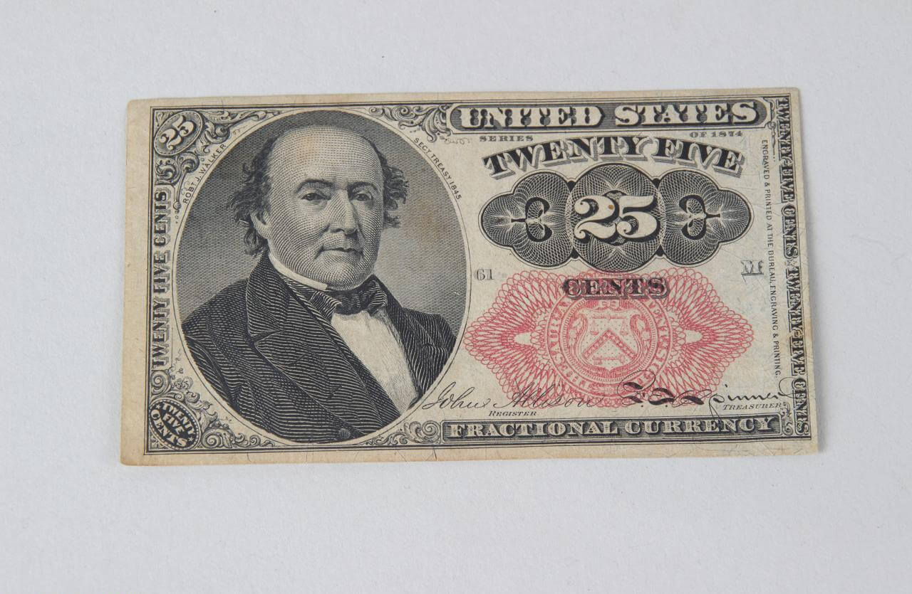 25 Cent 5th Issue U.S. Fractional Currency