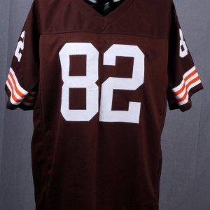 Ozzie Newsome Browns Signed & Inscribed HOF 99 Home Authentic Jersey HOLO