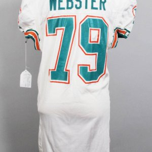Early 1990s Miami Dolphins - Larry Webster Game-Worn Jersey