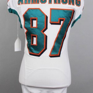 Miami Dolphins - Anthony Armstrong Game-Issued Jersey