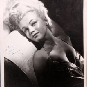 Original 8x10 Photo of Marilyn Monroe - Silver Bromide Print Never Pubished by Frank Powolny