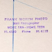 "Frank Worth Collection Of 29 Photographer 1940's 50's "" Hollywood Stars"" (PCL) Friars Club LA,Spoting News , Hollywood Photographers Guild,Movie Magazines"