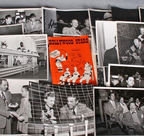 """Frank Worth Collection Of 29 Photographer 1940's 50's """" Hollywood Stars"""" (PCL) Friars Club LA,Spoting News , Hollywood Photographers Guild,Movie Magazines"""