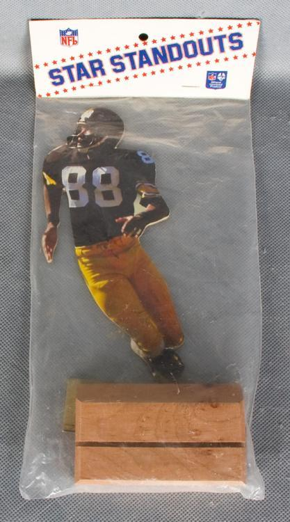 Vintage Star Standouts-Steelers Lynn Swann Standup Figure in Package