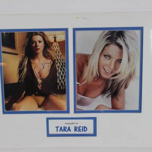 Tara Reid Autographed 8x10 Matted Photo Display COA Global