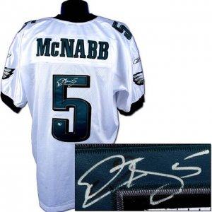 Donovan McNabb Signed Philadelphia Eagles Jersey.