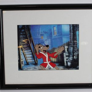 Hong Kong Phooey Animation 9x12 Display