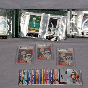 Modern Sports Card Lot - Featuring Danbury Mint Porcelain Cal Ripken Set