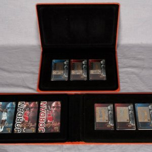 OE Two 1999 Upper Deck Michael Jordan 24k Gold Card Sets - Bulls, UNC