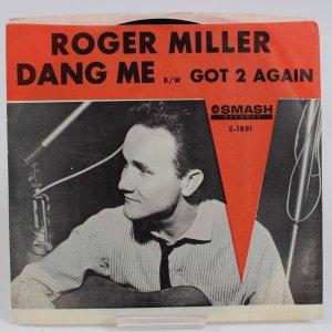 Roger Miller 45 Dang Me SMASH PICTURE SLEEVE