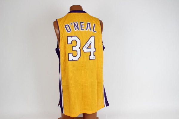 Los Angeles Lakers - Shaquille O'Neal Signed Jersey