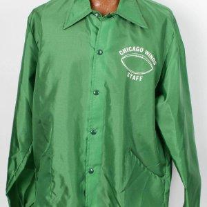 1975 WFL Chicago Winds Game Worn Staff Jacket
