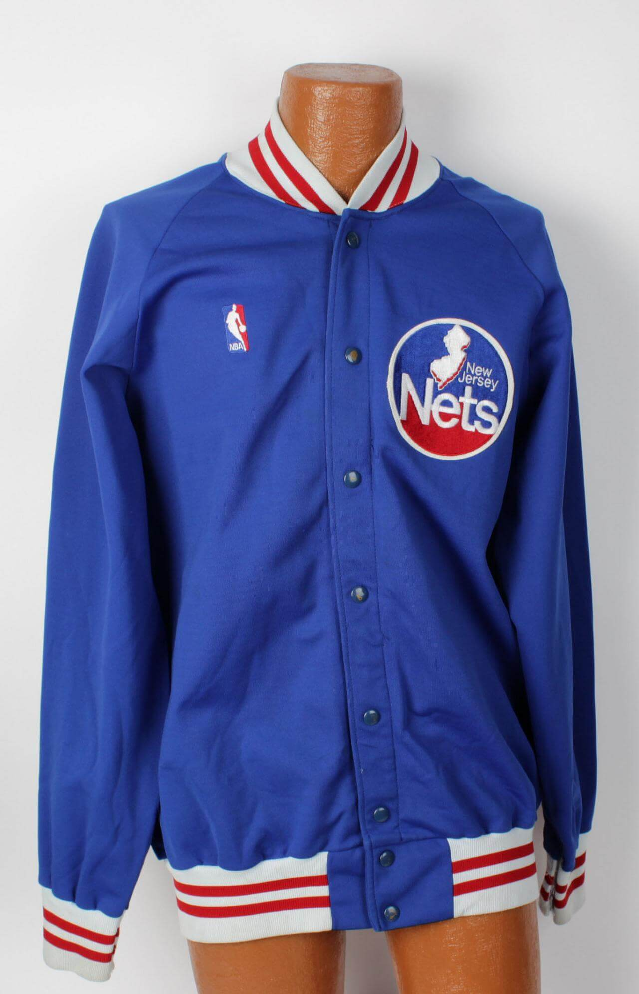 huge selection of d5030 20ab3 new jersey nets jacket