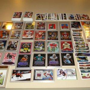 Sports Card Lot - Football Defensive Players & Role Guys w/ J.J. Watt