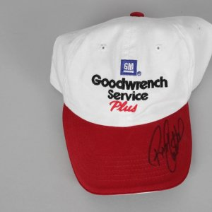 NASCAR Legend - Richard Childress Signed Goodwrench Hat