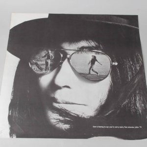 "Rare Yoko Ono & John Lennon ""Love is Having to Say You're Sorry Every Five Minutes...John '71"" 23x23 Poster - Lennon One Gallery"