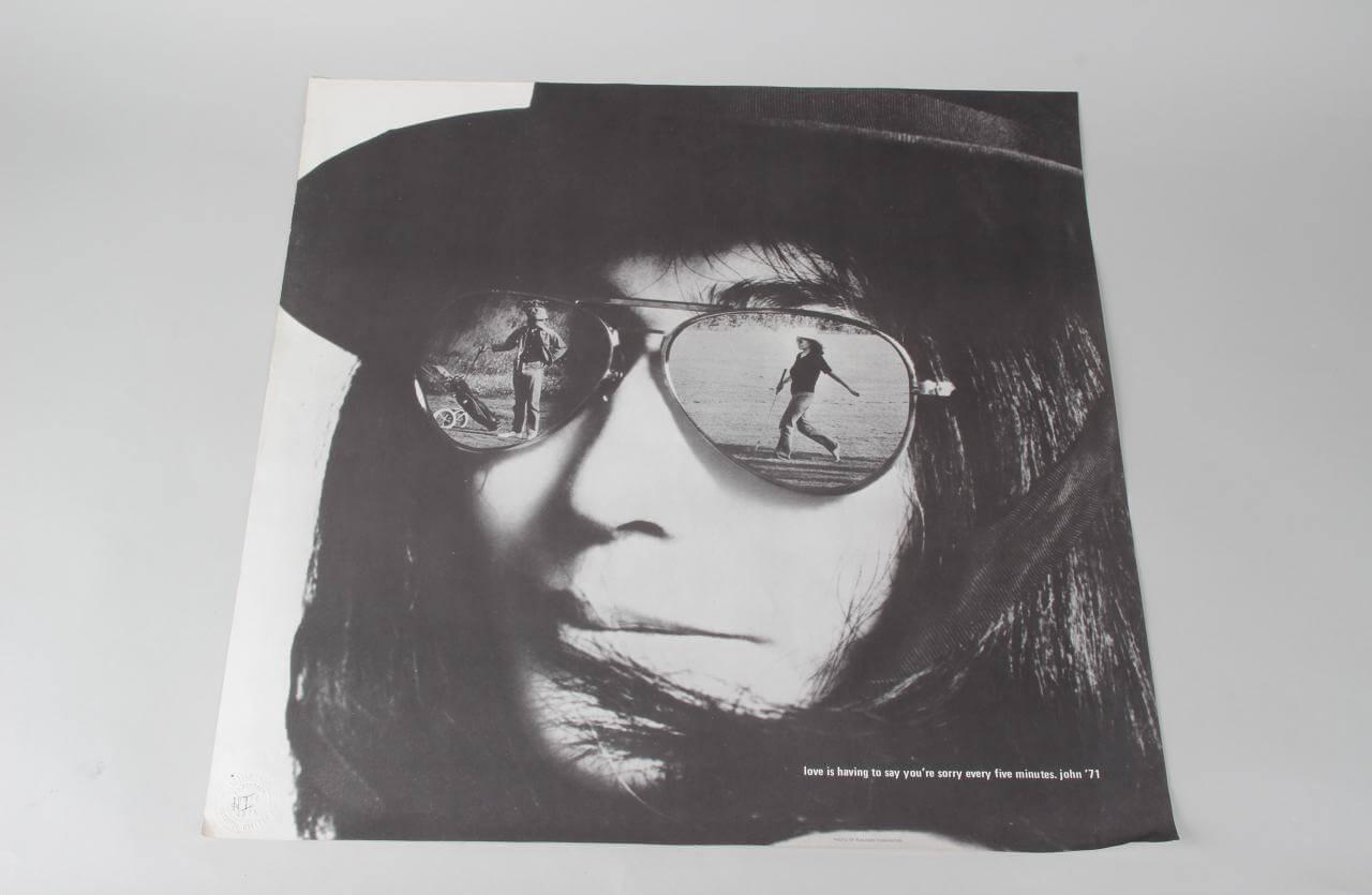 Rare Yoko Ono & John Lennon Poster
