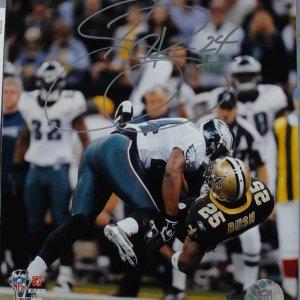 Philadelphia Eagles - Sheldon Brown Signed 8x10 Photo - COA