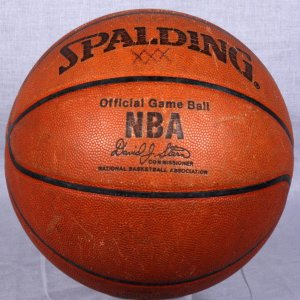 Offical NBA Game-Used David J. Stern Basketball