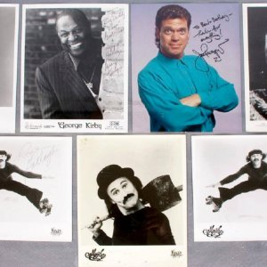 Entertainers Collection of Signed Photos - COA