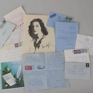 July 4,1967 Vivien Leigh Signed Letter + Star Sympathy Letters (McCulty Collection) Possibly Her Last Letter / Signature She Died July 8th