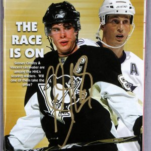 Sidney Crosby Signed ICETIME Program