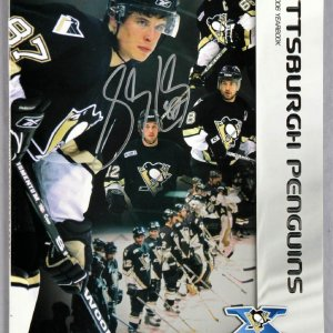 Sidney Crosby Signed 2005-06 Penguins Yearbook