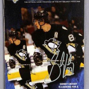 Sidney Crosby Signed 2006-07 Icetime Program
