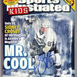 Sidney Crosby Signed Sports Illustrated Kids Magazine