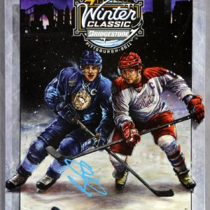 Sidney Crosby Signed 2011 NHL Winter Classic - Official Game Program