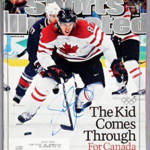 2010 Sports Illustrated Magazine Signed by Penguins Sidney Crosby