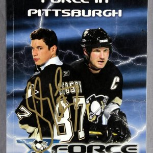 Sidney Crosby Signed 2005-2006 Pittsburgh Penguins Media Guide
