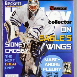 Sidney Crosby Signed Beckett Hockey Collector Price Guide