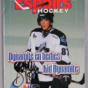 NHL - Sidney Crosby Signed 2003 Espoirs Du Hockey Magazine - JSA