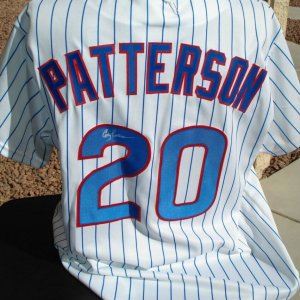Chicago Cubs - Corey Patterson Signed Pinstriped Jersey