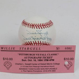 Pittsburgh Pirates - Willie Stargell Signed