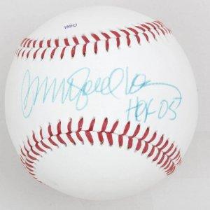 Chicago Cubs Ryne Sandberg 'HoF 05' Signed Baseball