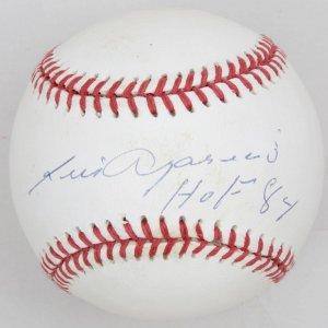 Chicago White Sox Luis Aparicio 'HoF 84' Signed Baseball