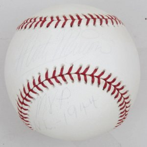 St Louis Cardinals Marty Marion 'MVP NL-1944' Signed Baseball
