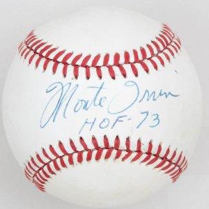 Negro League / New York Giants Monte Irvin HOF '73 Signed Baseball