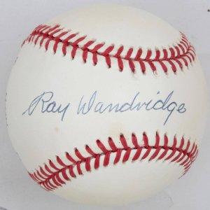 Negro League Ray Dandridge Signed Baseball
