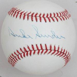 Los Angeles Dodgers Duke Snider Signed Baseball