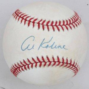 Detroit Tigers Al Kaline Signed Baseball