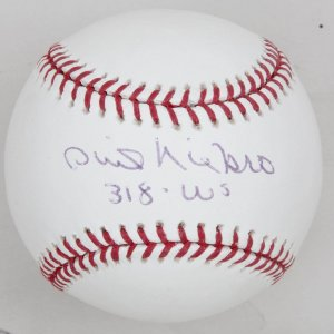 Atlanta Braves Phil Nierko '318 WS' Signed Baseball