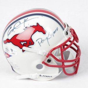 Eric Dickerson SMU Signed Mini Helmet